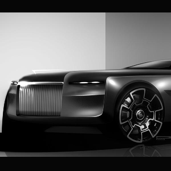 Konsep Rolls-Royce Ini Mungkin Cocok Buat Bruce Wayne