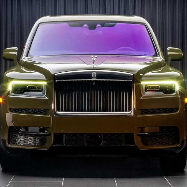 Rolls-Royce Ungkap Warna Baru Untuk Cullinan