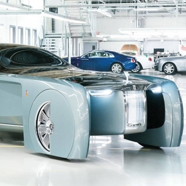 Rolls-Royce Vision Next 100, Mobilitas Mewah Masa Depan