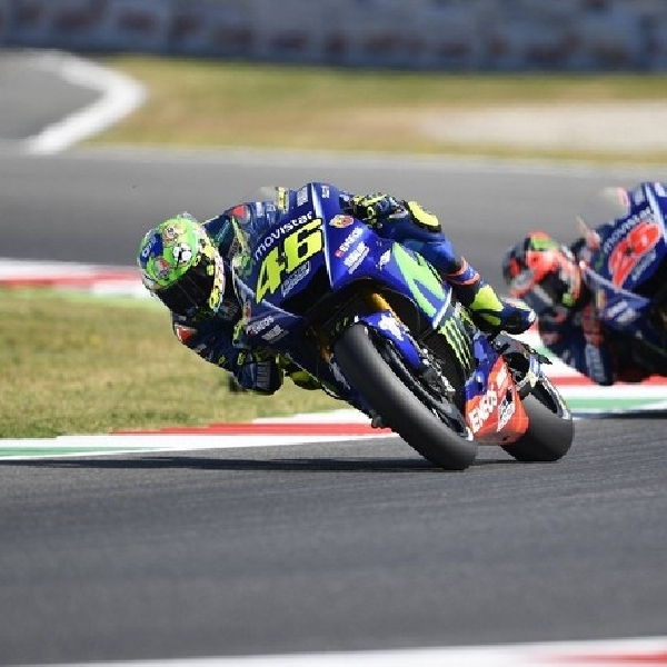 MotoGP: Efek Cedera - Rossi Kehilangan Podium di Mugello