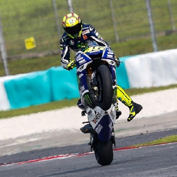MotoGP: Rossi Bertekad akan Pimpin Balapan di Jerez