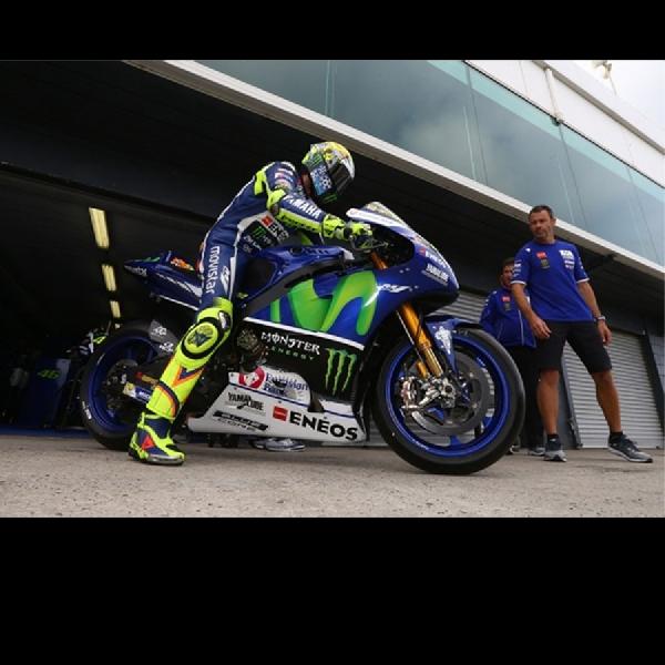 MotoGP: Rossi Masih Nyaman Tangki Didepan