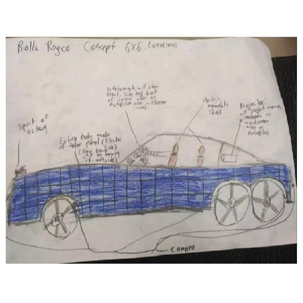 Rolls-Royce Menggelar Kontes Design untuk Anak-Anak