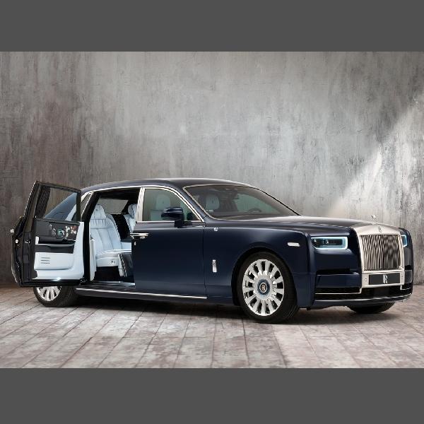 Semua Yang Ada Di Rolls-Royce Phantom Ini Berbau Bunga