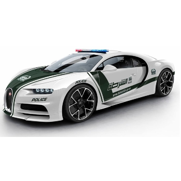 Bugatti Chiron Jadi Mobil Patroli di Dubai