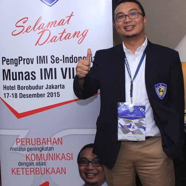 Sadikin Aksa Resmi Pimpin IMI hingga 2019