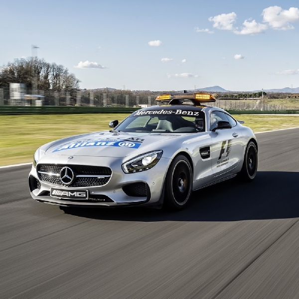 Safety Car Formula One akan Dibekali dengan Teknologi Otonom?