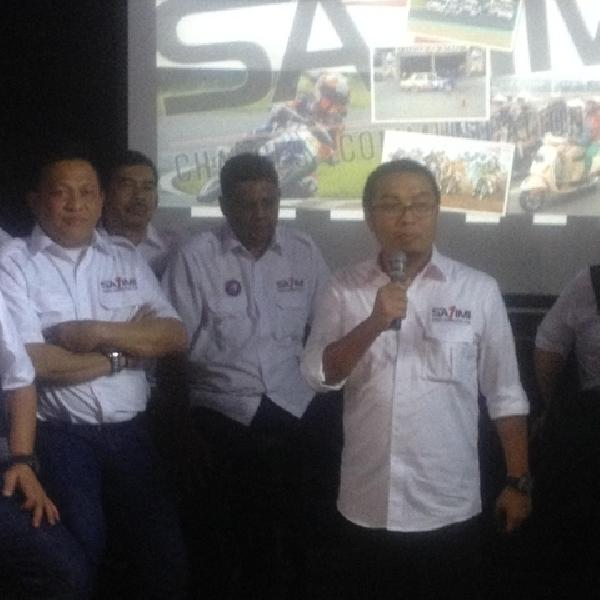 Saidikin Aksa Resmi Calonkan Ketua Umum IMI