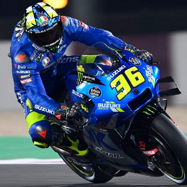 MotoGP: Salah Strategi Buat Joan Mir Kehilangan Q2 MotoGP Doha