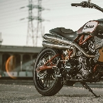 Modifikasi Indian Scout FTR 1200 Street Legal Tracker