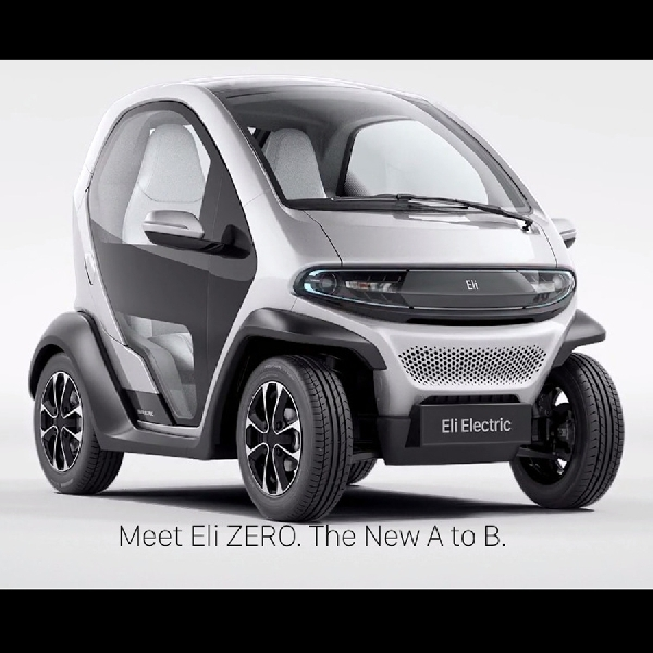 Eli ZERO Electric City Car Debut di CES 2017