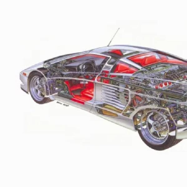 Mengenal Cizeta V16T, Supercar Terkuat dan Tercepat pada Tahun 1988