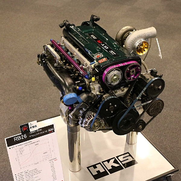 HKS Akan Rilis Mesin Terbaru Berkode RB28