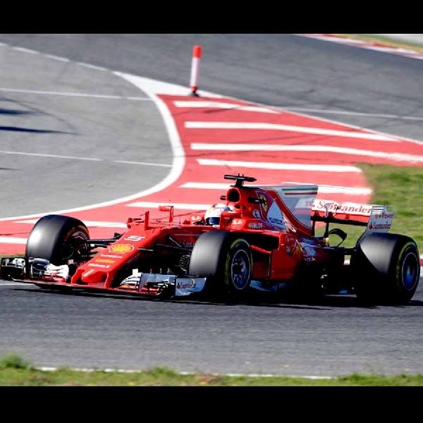 Vettel Tercepat - Ini Hasil Pengujian Pra-musim di Hari Ketiga