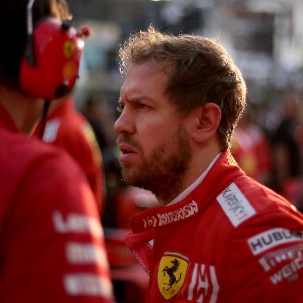 F1: Sebastian Vettel Kritik Wacana Musim 2020 Dengan 10 Balapan