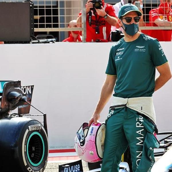 F1: Sebastian Vettel Tak Nyaman Kemudikan AMR21