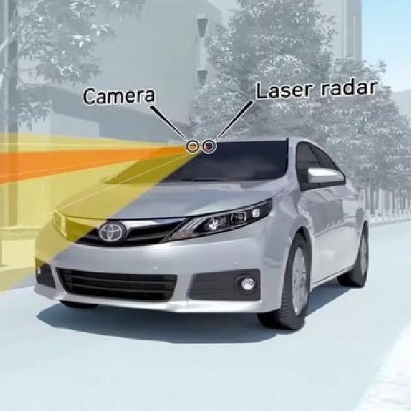 Sebentar Lagi Mobil Baru Toyota Bakal pakai Rem Otomatis