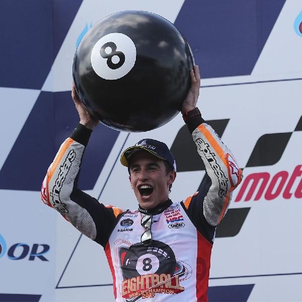 MotoGP: Ini Kata Marquez Saat Segel Gelar Juara MotoGP di Thailand