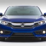 Segera Dipasarkan, Honda Civic Coupe 2016 Pakai Turbocharger