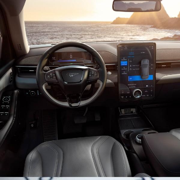 Semakin Liar, Beginilah Bentuk Terbaru Ford Mustang Mach-E GT