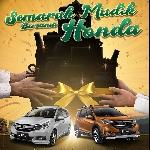 Mudahkan Pemudik Dengan Cashback, Honda Tawarkan Program Penjualan dan Purna Jual