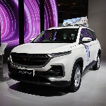 Flagship Wuling Almaz RS Ramaikan International Motor Show Hybrid 2021