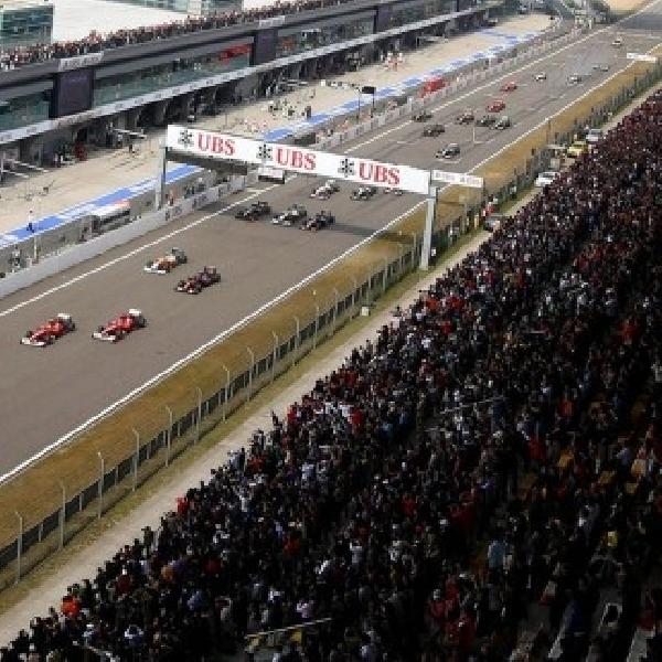 F1: Grand Prix China akan dilanda Cuaca tidak Bersahabat