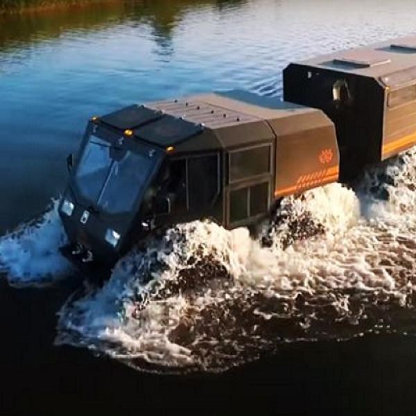 SHERP The Ark Sang Kendaraan Segala Medan, Bisa Berenang