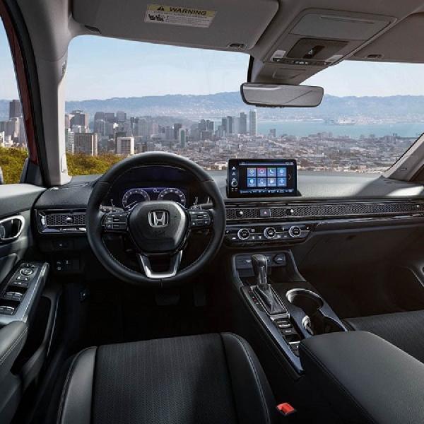 Simak Tampilan Kabin Elegan Sedan Honda Civic 2022