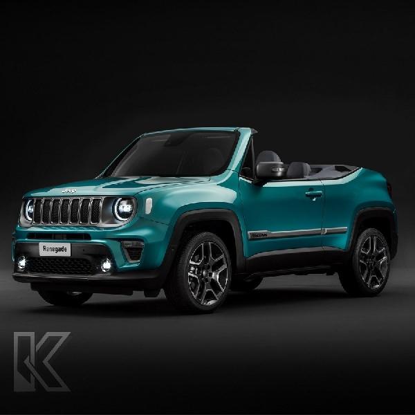 Simak Tampilan Rendering Jeep Renegade yang Dikonversi Menjadi Convertible