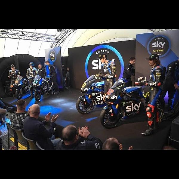 Sky Racing VR46 Luncurkan Motor untuk Ajang Moto2 dan Moto3 Musim 2020