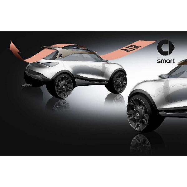 Smart Concept #1 Tiba Di Munich Motor Show Sebagai Crossover Listrik