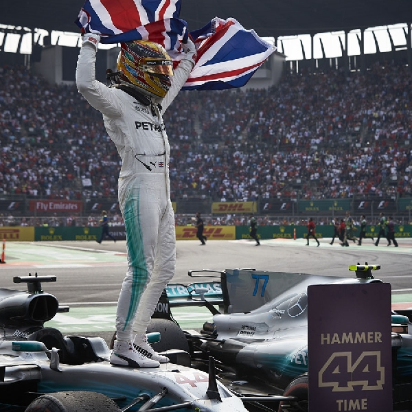 F1: Hamilton Tak Mengejar Jumlah Rekor