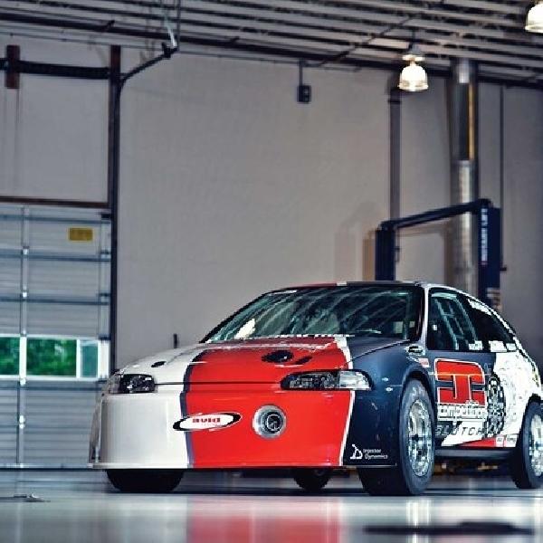 Mengenang Civic Hatchback Tercepat di Dunia  7,4 Detik Garapan SpeedFactory