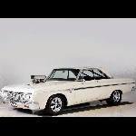 White Leviathan, Plymouth Sport Fury Ini Dimodifikasi Mobil Drag Torsi 885 Nm