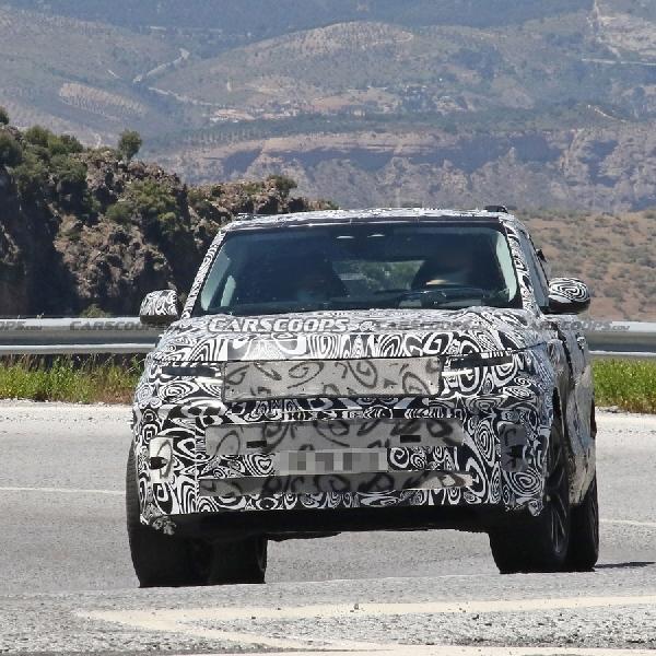 Spy Shoot Range Rover Sport 2023, Hadir Dengan Desain Evolusioner