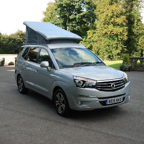 SsangYong Turismo, Kendaraan yang Bisa Diajak Camping