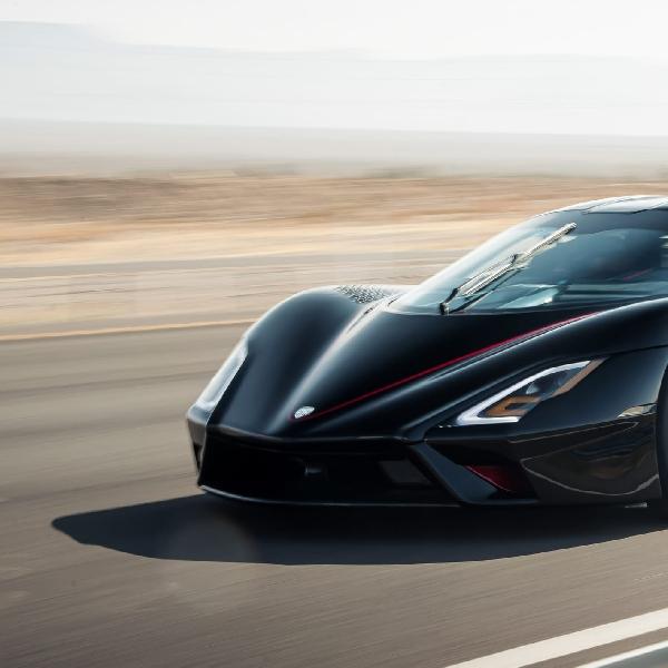 SSC Tuatara Resmi Pecahkan Rekor Mobil  Produksi Tercepat di Dunia