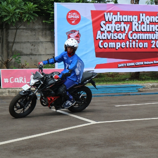 Latih Skill, Wahana Siap Tanding Safety Riding Nasional