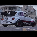 Modifikasi VW Beetle 1965 Beraliran Street Racing Turbocharged