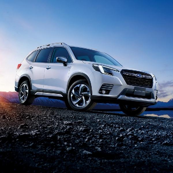 Subaru Forester Facelift 2022 Meluncur Dengan Desain Ulang Dan Teknologi Baru