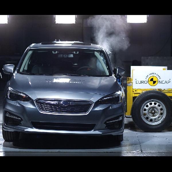Subaru Diganjar 5 Bintang Pada Tes Euro NCAP