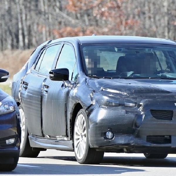 Subaru Impreza Hatcback Sudah Lakukan Pengujian