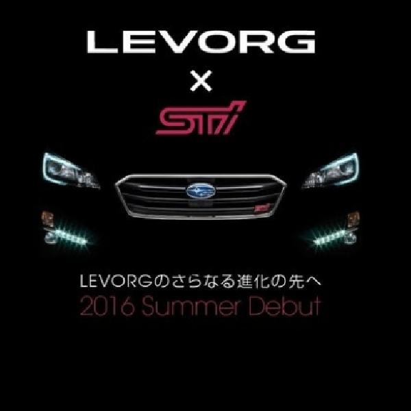 Subaru Sajikan Teaser Levorg STI