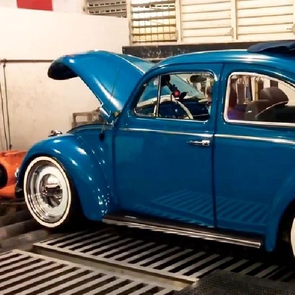 VW Beetle Jelmaan STI 350 HP Hasilkan Suara Liar Subaru Boxer