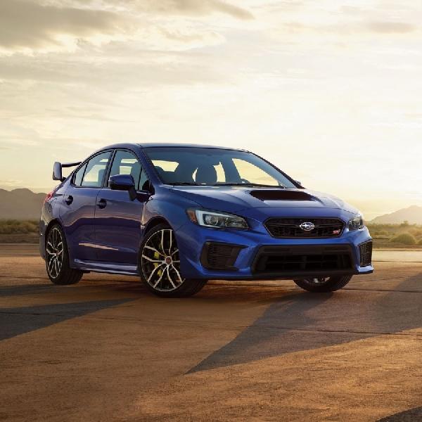 Subaru Umumkan Spesifikasi dan Harga WRX dan WRX STI 2021