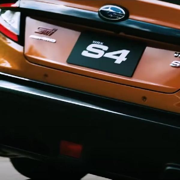 Teaser Subaru WRX S4 2022 Muncul di Jepang, Gunakan Lencana STI