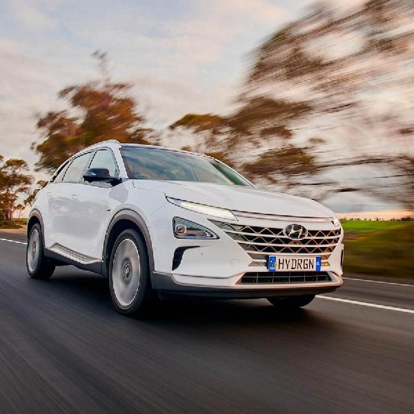 SUV Hidrogen Hyundai Cetak Rekor Dunia