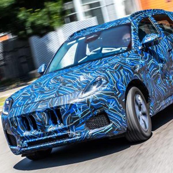SUV Maserati Grecale Diperkenalkan Dalam Bentuk Prototipe
