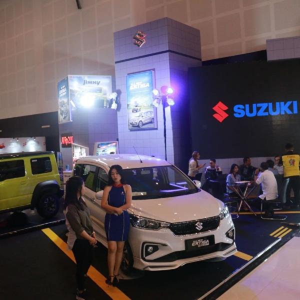 Usung Tema Urban Sporty GEAR, Suzuki Tampil di IIMS 2019 Surabaya